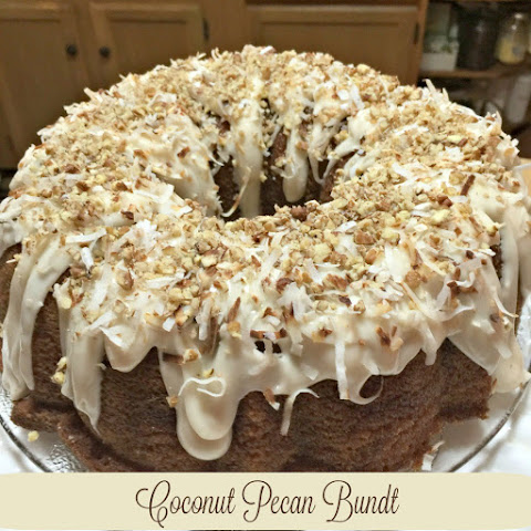 Toasted Pecan Coconut Bundt Cake