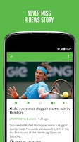 Screenshot of Tennis News - Sportfusion