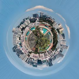 tiny city by Vibeke Friis - Digital Art Places ( skyline, macau )