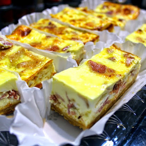 BACON CHEESECAKE CASSEROLEFor a Crowd (Shhh... It's a Quiche Lorraine)