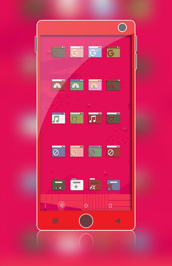 Adhira - Icon Pack Screenshot 12