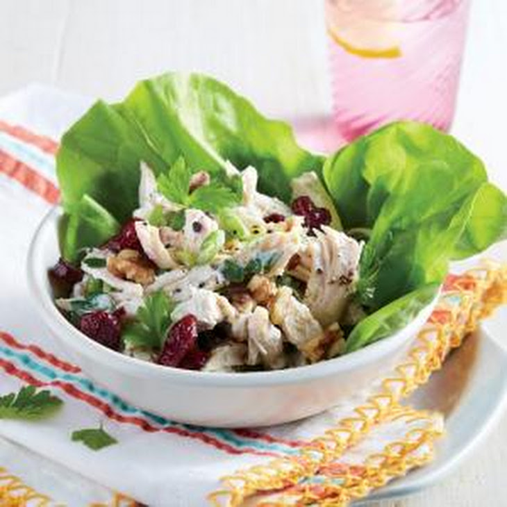 Chicken Salad in Lettuce Cups Recipe | Yummly
