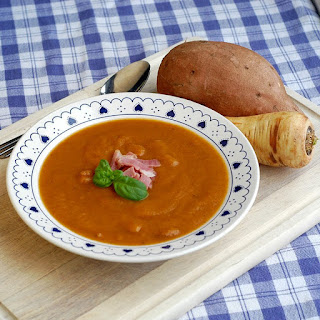 Ham Sweet Potato & Parsnip Soup