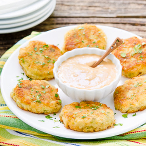 Mini Potato Crab Cakes