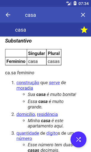 Portuguese Dictionary Offline screenshot 2
