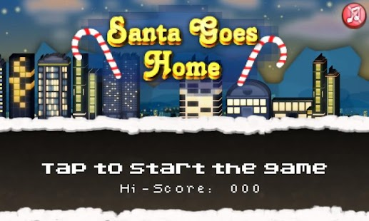 Santa Goes Home - screenshot