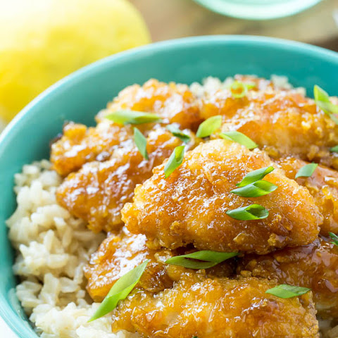 Baked Honey Lemon Chicken