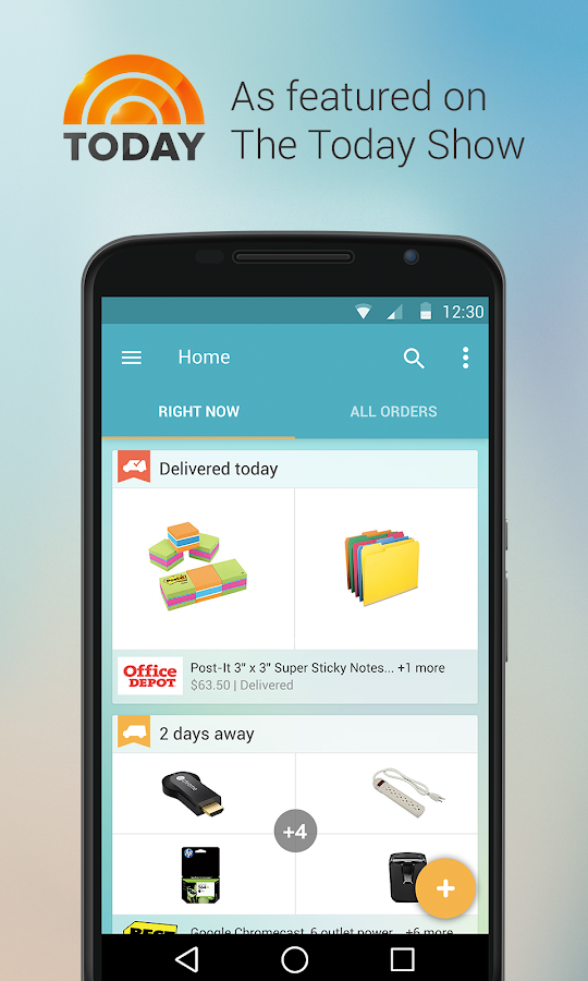Slice: Package Tracker Screenshot 0