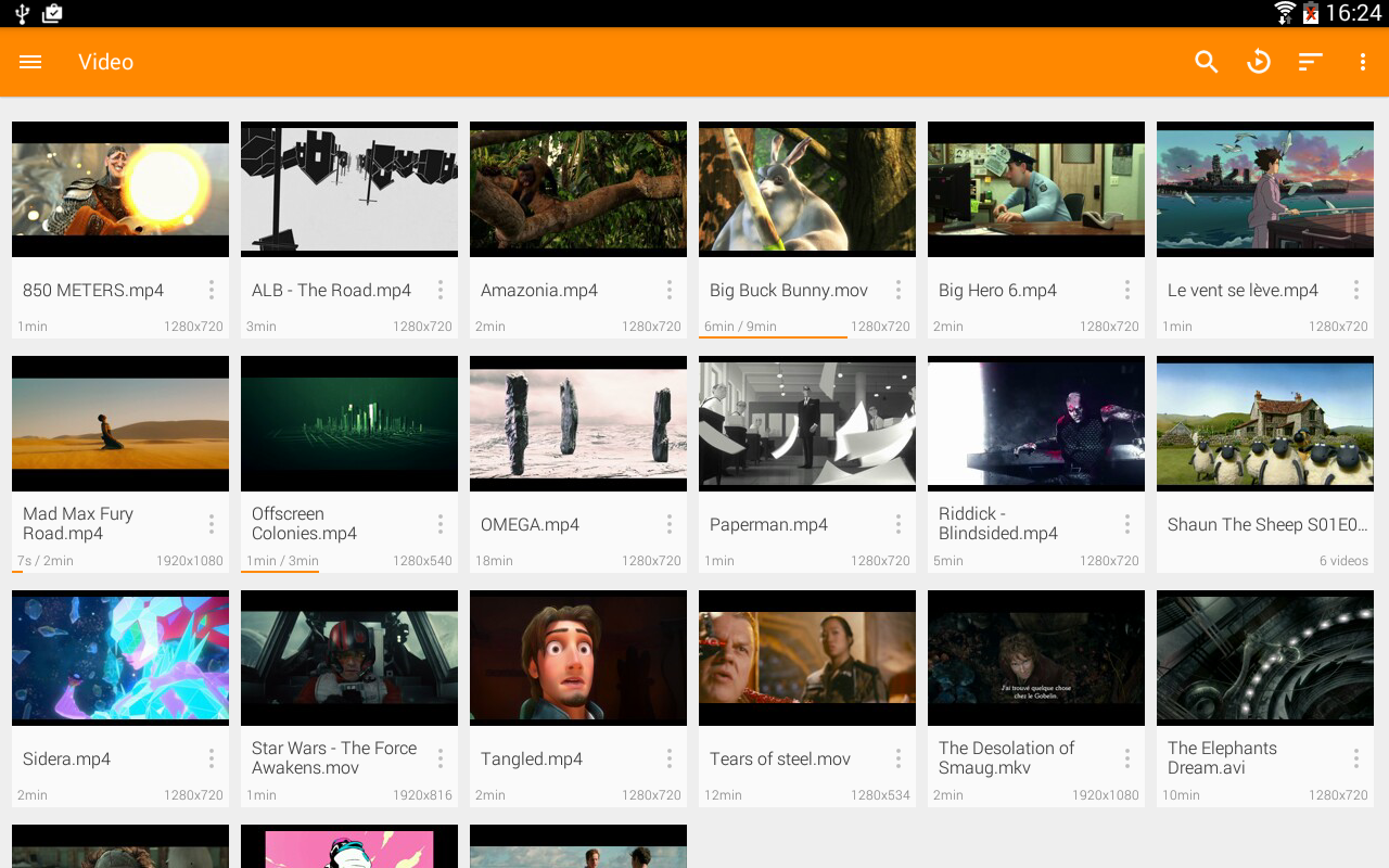 VLC for Android Screenshot 8
