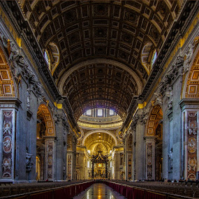 The Papal Basilica of St. Peter in the Vatican by Emanuele Zallocco - Buildings & Architecture Public & Historical (  )