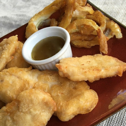 Gluten Free Chicken Nuggets with Honey Wasabi Dipping Sauce