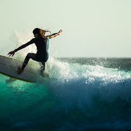 balance by Jaime Gomez - Sports & Fitness Surfing