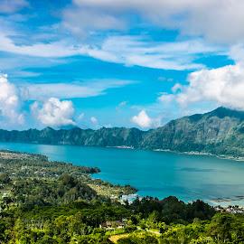 Lake Batur, Bali  by Laxminarayan Channa - Nature Up Close Water