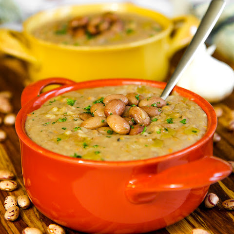 ITALIAN RICE AND BEANS SOUP - a fall delight!
