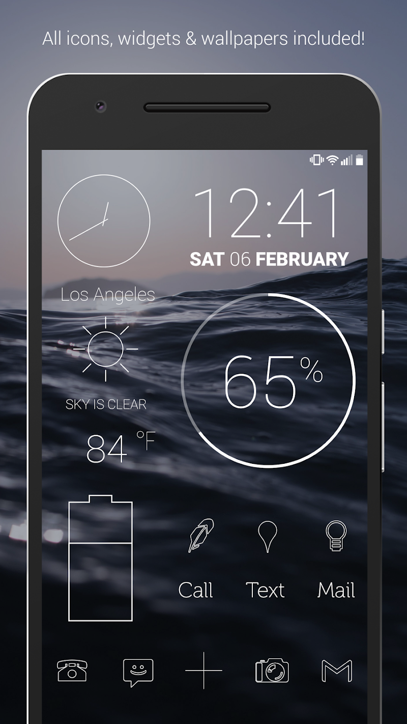 Lines - Icon Pack (Pro Version) Screenshot 0