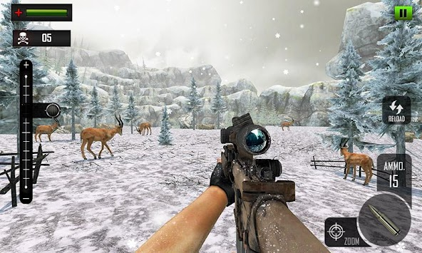 Sniper Deer Hunting Modern FPS Shooting Game APK screenshot thumbnail 4