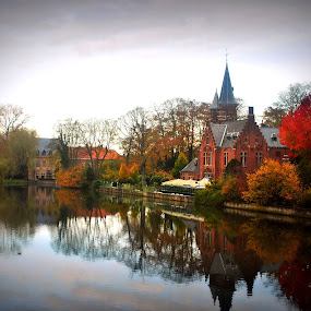 Brugge by Sharon Verschelling - City,  Street & Park  Historic Districts
