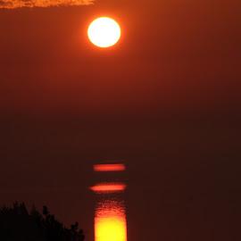 Sunrise at Getå by Alf Winnaess - Landscapes Sunsets & Sunrises