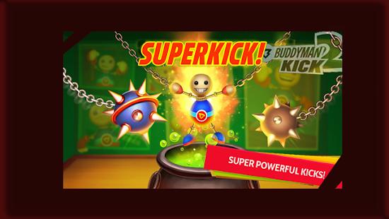 Super Buddyman Kick 2 - The Run Adventure Game