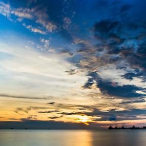 PORT DICKSON 2013 by Mohd Hisyam Saleh - Landscapes Sunsets & Sunrises ( port, 2013, dickson, malaysia, nikon )