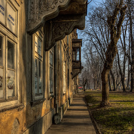 by Bojan Bilas - City,  Street & Park  Neighborhoods