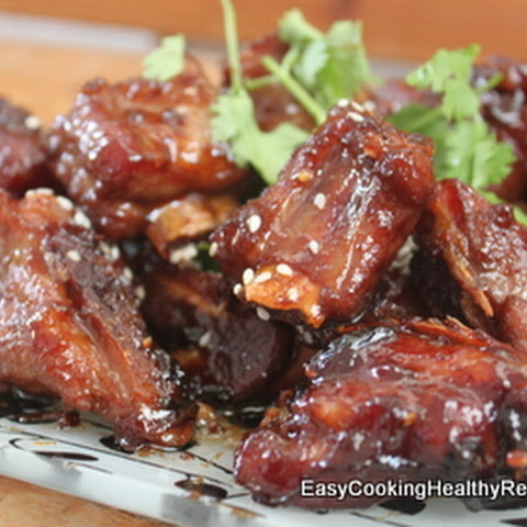 Braised Pork Ribs Using Thermomix