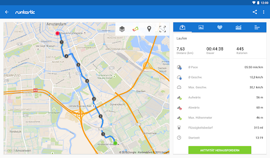 Runtastic PRO Laufen & Fitness Screenshot