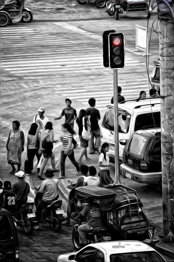 by SirIan Marson Rañada - City,  Street & Park  Street Scenes