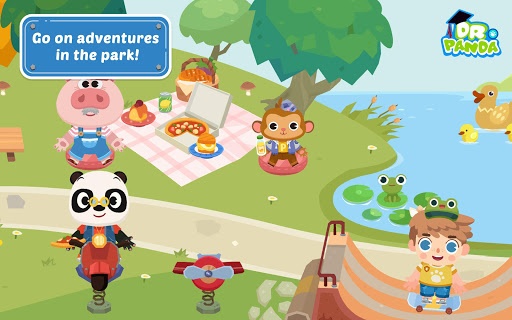 Dr. Panda Town For PC