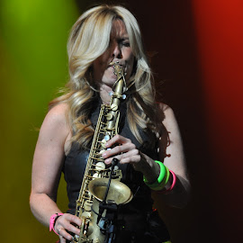 Candy Dulfer by Inese Keiša - People Musicians & Entertainers