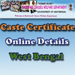 Caste Certificate Details of West Bengal for PC-Windows 7,8,10 and Mac