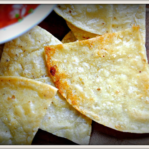 Baked Lime Tortilla Chips