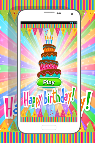 android Happy Birthday Coloring Book Screenshot 0