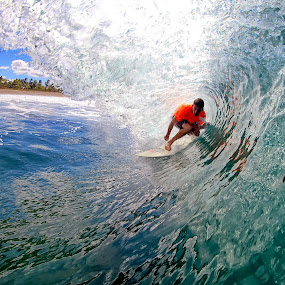 Crystal 2 by Trevor Murphy - Sports & Fitness Surfing ( surfing, barrels, tmurphyphotography, randy townsend, costa rica, places )