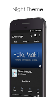 App Maki for Facebook & Twitter apk for kindle fire