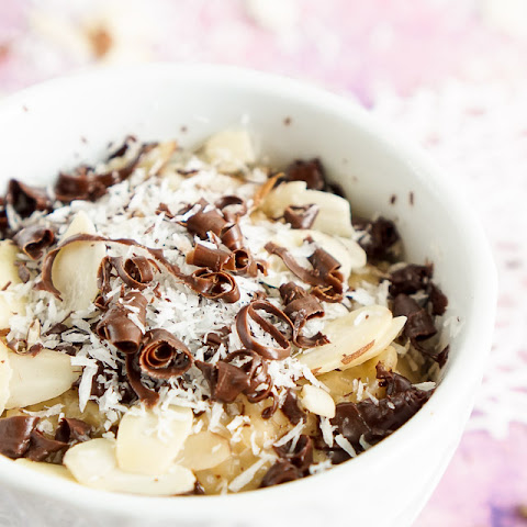 Almond Joy Rice Pudding