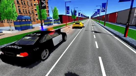 Police Car Shooter 3D - screenshot