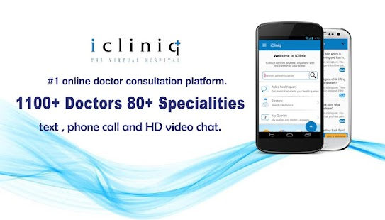iCliniq - Ask a Doctor screenshot for Android