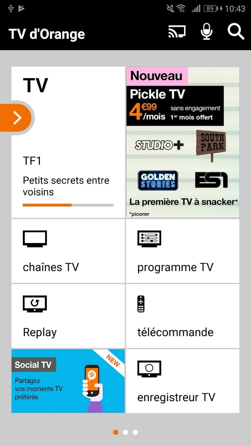 TV d'Orange, live-replay-vod Screenshot 0