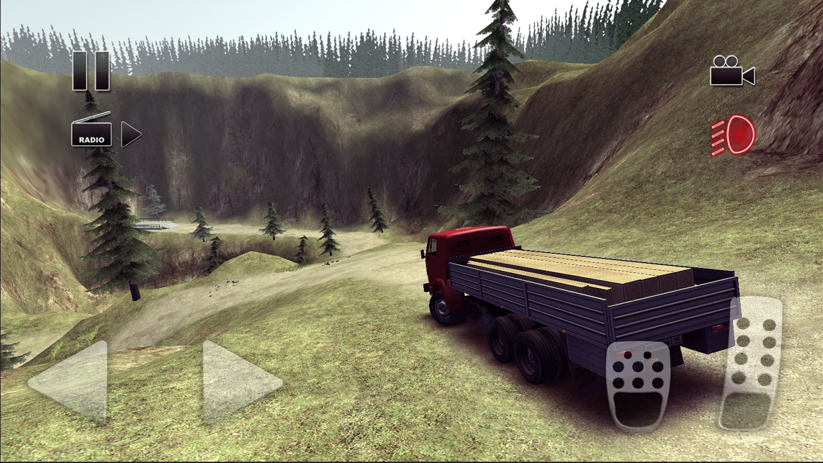 Truck Driver crazy road Screenshot 4