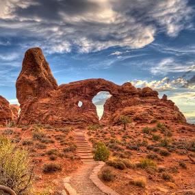 Turret Arch by Gerardo Robledo - Nature Up Close Rock & Stone
