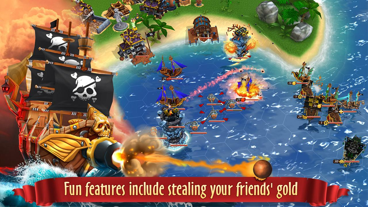 Pirate Battles: Corsairs Bay Screenshot