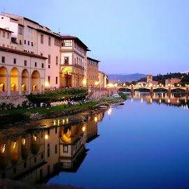 Uffizi Gallery, Florence by Ljiljana Pejcic - City,  Street & Park  Vistas