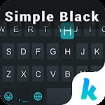 Simple Black Keyboard Theme Icon
