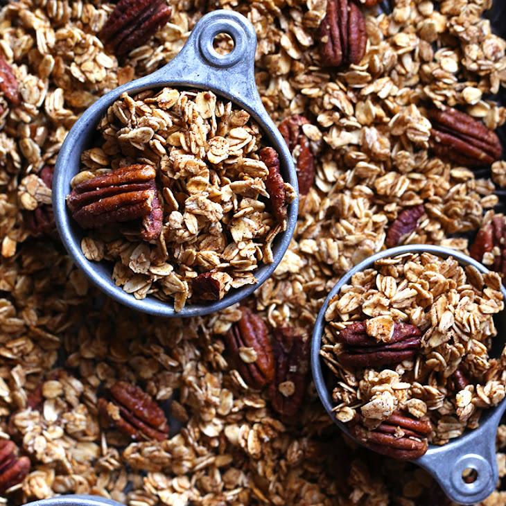 Maple Pecan Granola Recipe | Yummly