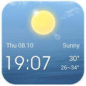 Free Weather Widget Live Wallpaper APK for Windows 8