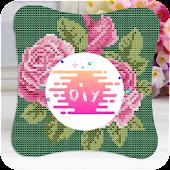 App DIY Cross Stitch Flowers apk for kindle fire