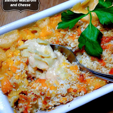 Slenderized Macaroni and Cheese - a Comfort Food Makeover