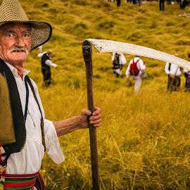 Haymaking.Serbia by Darijan Mihajlovic - People Professional People