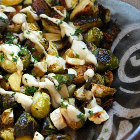 Stir-fried Brussels Sprout With Dried Sole Recipes — Dishmaps